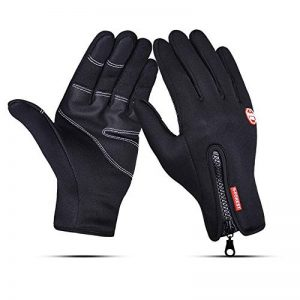 RUNATURE Guanti da Ciclismo Antivento, Guanti da Touch Screen Winter Running Guanti da Bici da Bici Impermeabili da Donna per Guida Sci Pattinaggio Climbing Hunting Sports de la marque RUNATURE image 0 produit